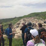 Joshua teaching on Gezer